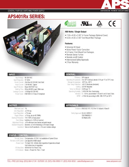 2 Page Technical Specification Design