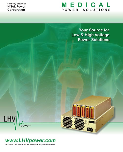 8 Page Medical Power Supplies Catalog Design