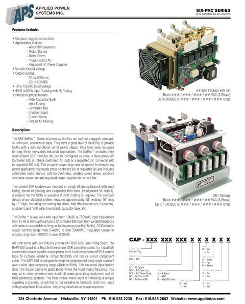 5 Page Technical Specification Design
